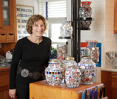 Contact Sybil Sage for Mosaic Memorial Custom Orders